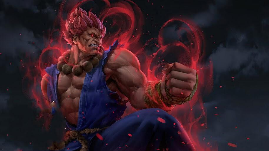 Akuma, Street Fighter, 4K, #6.1606