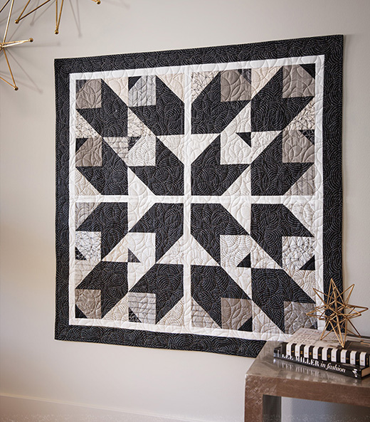 Crazy Cat Star Quilt Free Tutorial