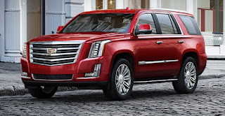 2017 Cadillac Escalade Red Exterior