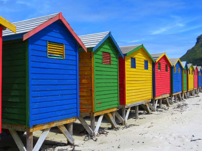 Muizenberg Beach Boxes