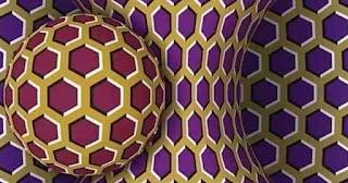Όταν βλέπεις την εικόνα αυτή ακίνητη είσαι ήρεμος, όταν τη βλέπεις να κινείται είσαι στρεσαρισμένος