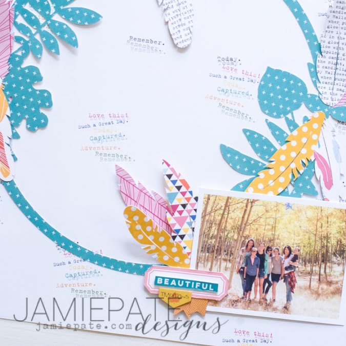 Beautiful Traditions page layout using new Bella Blvd by Jamie Pate   | @jamiepate for @bellablvd