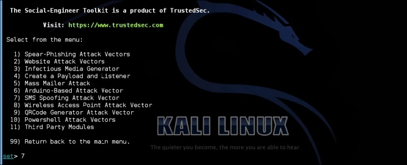 SMS Spoofing with Kali Linux | Hackers Chronicle - Online