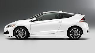 Desain Eksterior Honda CR-Z