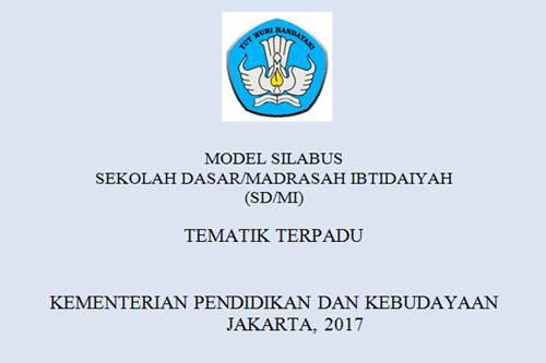 Silabus K13 Revisi 2017 SD Tematik Terpadu