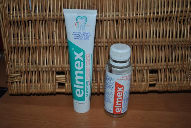 gratis elmex pasta płyn do płukania buteleczka plastikowa