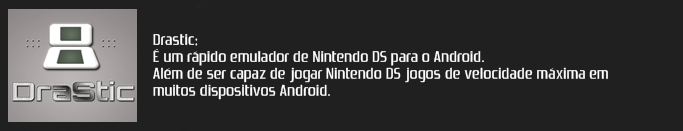 EMULADOR NINTENDO DS PARA ANDROID (DSroid, NDS4droid e