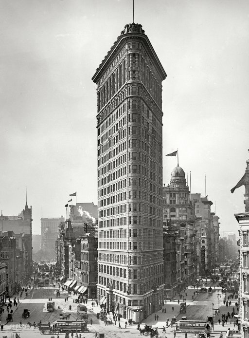What Triangular Building Was New York City S First Skyscraper