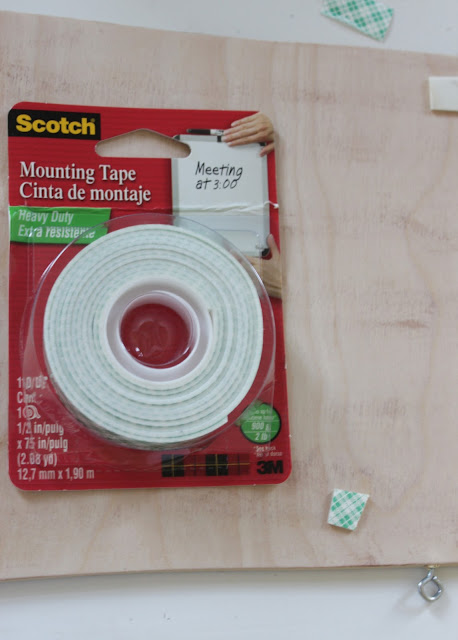 double sided mounting tape for wall art projects - sailboat
