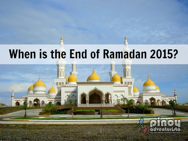 Date of End of Ramadan Eid'l Fitr 2015 in the Philippines