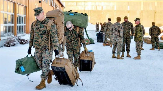 EEUU aumenta hasta más del doble su presencia militar en Noruega