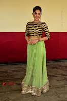 Actress Regina Candra Latest Pos in Green Long Skirt at Nakshatram Movie Teaser Launch  0136.JPG