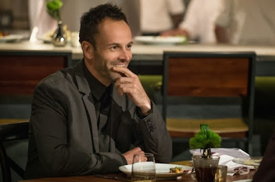 Jonny Lee Miller as Sherlock Holmes in CBS Elementary Season 2 Episode 8 Blood Is Thicker