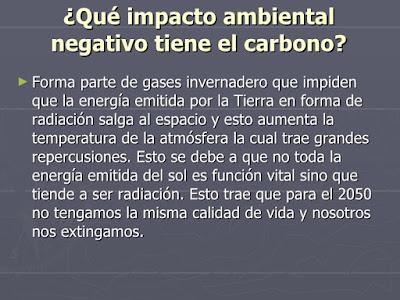 Impacto Ambiental del Dióxido de Carbono