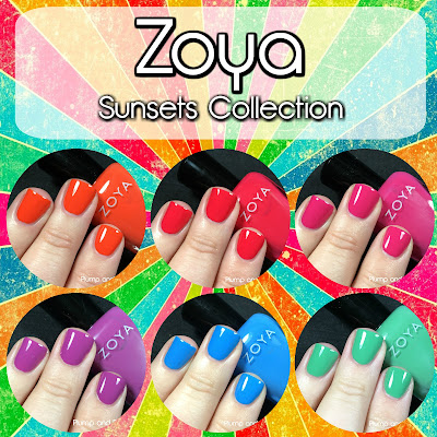 Zoya - Sunsets Collection [Summer 2016]