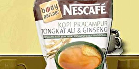 NESCAFÉ® 3 in 1 Tongkat Ali & Ginseng