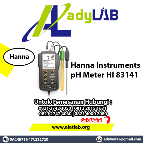 pH Meter type HI-83141