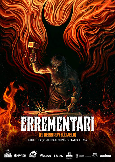 Errementari 2018 The Blacksmith and the Devil Netflix movie poster