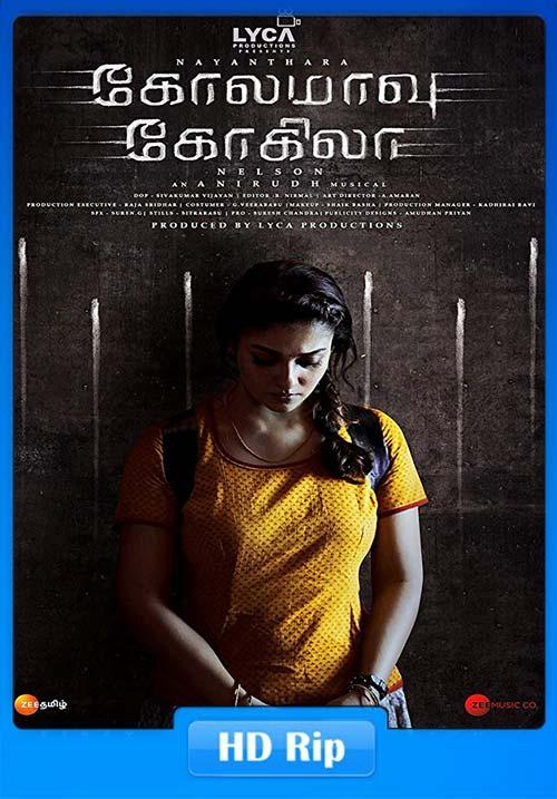 Kolamavu Kokila 2018 720p HDRip Tamil Telugu | 480p 300MB | 100MB HEVC