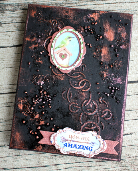 Serendipity Box Alter by Ulrika Wandler using Serendipity Collection