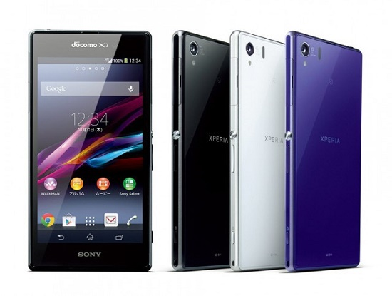 Harga dan Spesifikasi Sony Xperia Z1 docomo