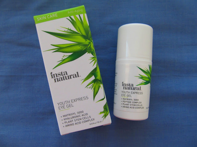 Крем-гель для очей InstaNatural Eye Gel Cream with Hyaluronic Acid + Plant Stem Cells