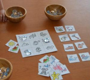 plantilla descargar e imprimir juego de rimas consiencia fonológica lectoescritura