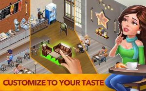 My Cafe Recipes & Stories Mod Apk Data Unlimited Money for android