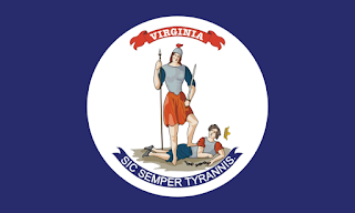 Flagge von Virginia aus dem Jahre 1861