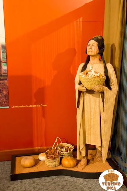 Exposición museográfica Caral