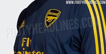 78b255db0 UPDATE  Stunning Adidas Arsenal 19-20 International Training Kit Leaked