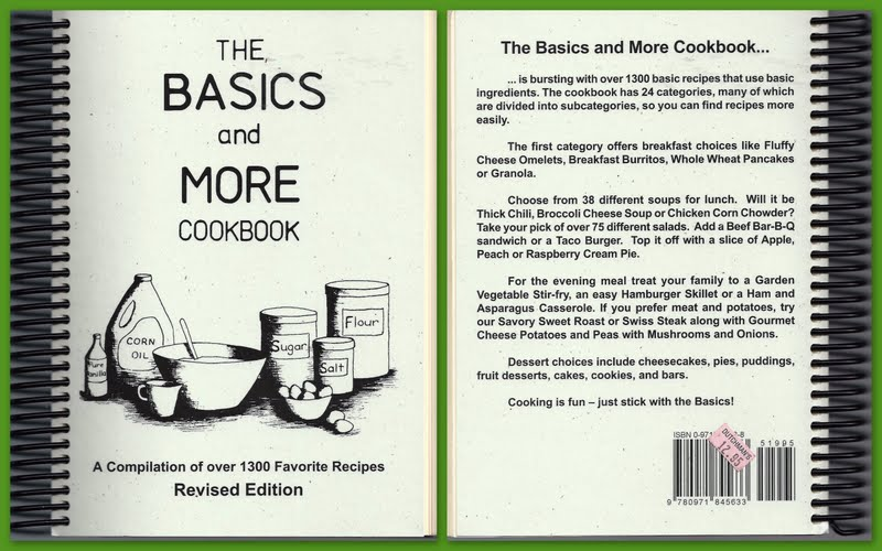 Cookbook Back Cover : The iowa housewife cookbook reviews basics