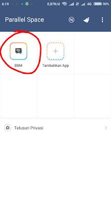 Menginstall 2 BBM Dalam Satu HP Android