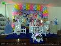 Princesas Disney - Decoração para mesa temática de aniversário de meninas.