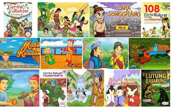 Kumpulan Cerita Dongeng Anak Indonesia Penuh Hikmah Wawasan