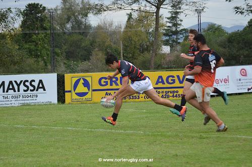 Tigres venció holgadamente a Monteros Voley en rugby