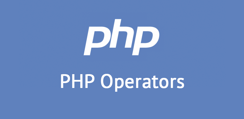 List of all PHP Operators