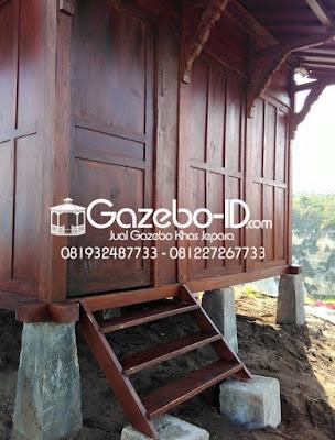 Gazebo Rumah Ukir Jawa Jati Jepara - Kanan