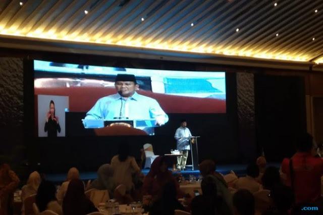 Ketika Prabowo Larang Relawannya Teriakan Kata 'Cebong'