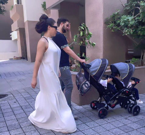 Father's Day: Nadia Buari finally shares a glimpse of her baby daddy