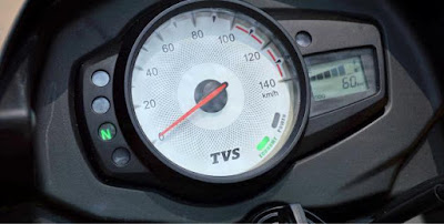 TVS Star City Plus Speed mitor image