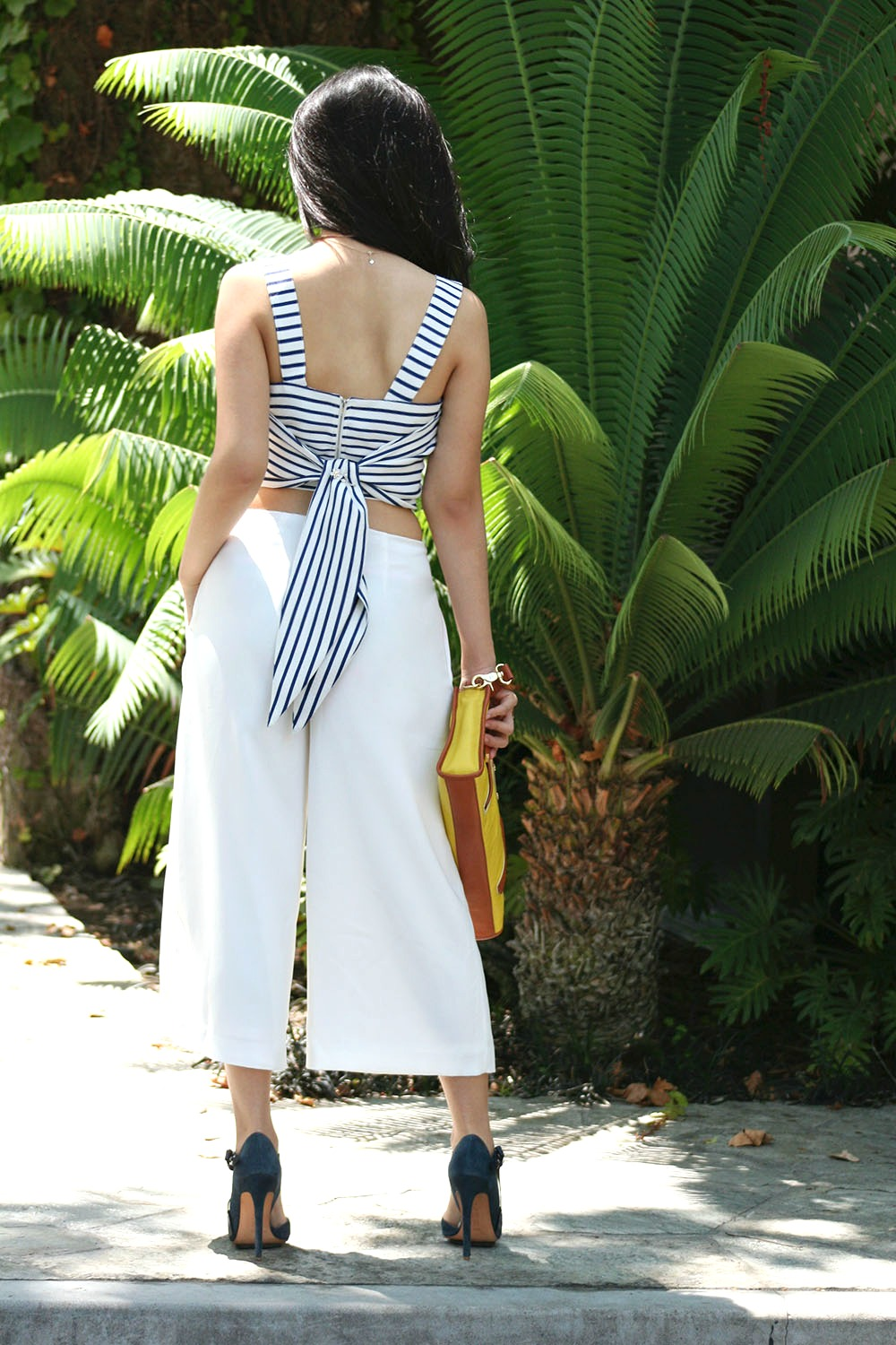 Adrienne Nguyen_How to wear Crop Tops_How to Wear Culottes and look tall_how to not look short in culottes