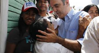 Abinader resalta importancia del contacto del PRM con el pueblo