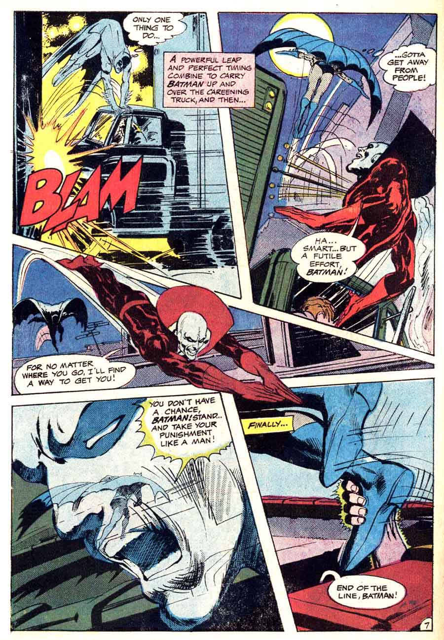 Brave and the Bold v1 #86 dc comic book page art by Neal Adams