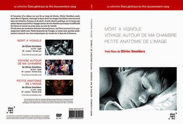 DVD Mort à Vignole- Voyage autour de ma chambre - Petite anatomie de l'image - Olivier Smolders