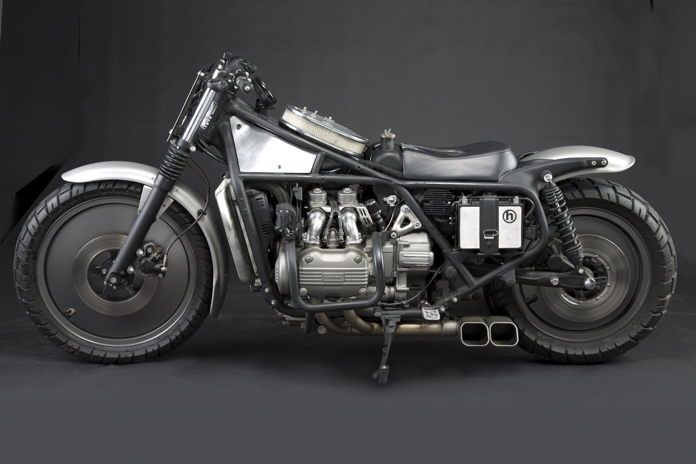 Blog Of The Biker 🏍: Minimal Custom Honda Gold Wing