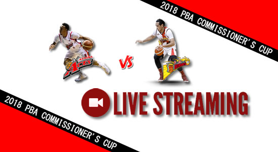 Livestream List: Alaska vs SMB May 19, 2018 PBA Commissioner's Cup