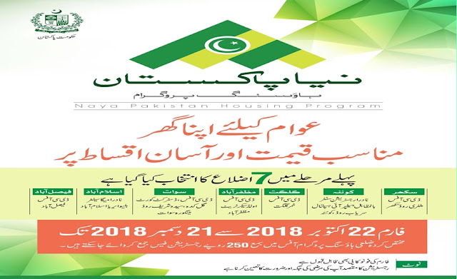 PM Naya Pakistan Housing Program |  Download Registration Form PM Naya Pakistan Housing Program