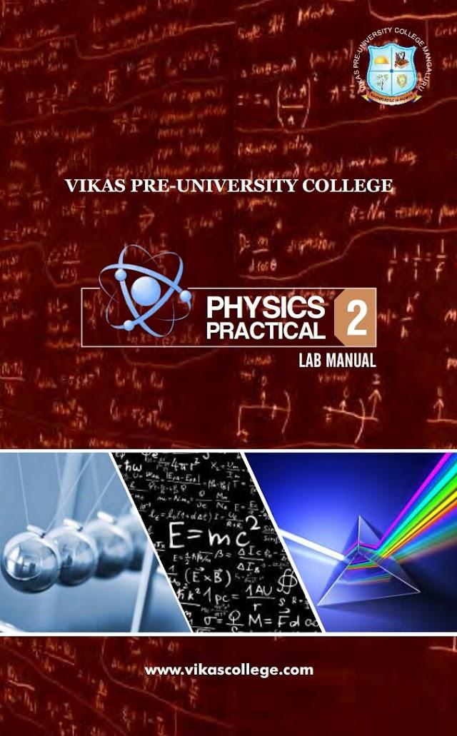 PHYSICS PRACTICAL LAB MANUAL 2