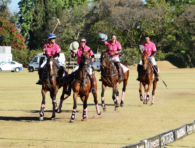 @CellC Playing for Pink Ladies Invitational Polo - A Toast to Breast Cancer Patients and Survivors
